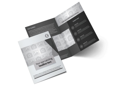 Generic Bi-Fold Brochure Template 8312