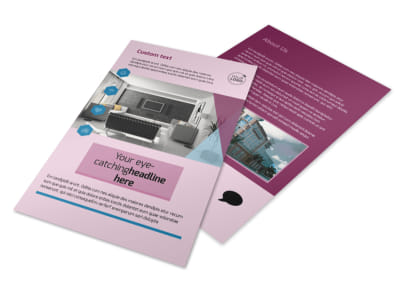Apartment Living Flyer Template 3