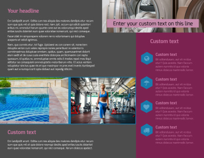 Apartment Living Brochure Template Preview 2