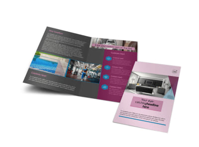 Apartment Living Bi-Fold Brochure Template