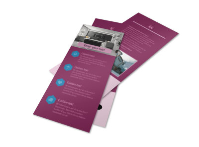 Apartment Living Flyer Template 2 preview