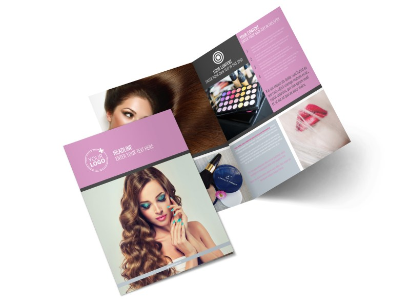 Professional Makeup Artist Brochure Template | MyCreativeShop
