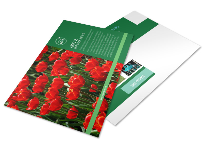 Farm & Garden Supplies Postcard Template Preview 4