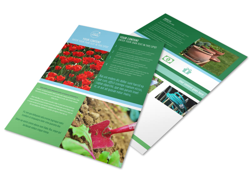 Farm & Garden Supplies Flyer Template Preview 4