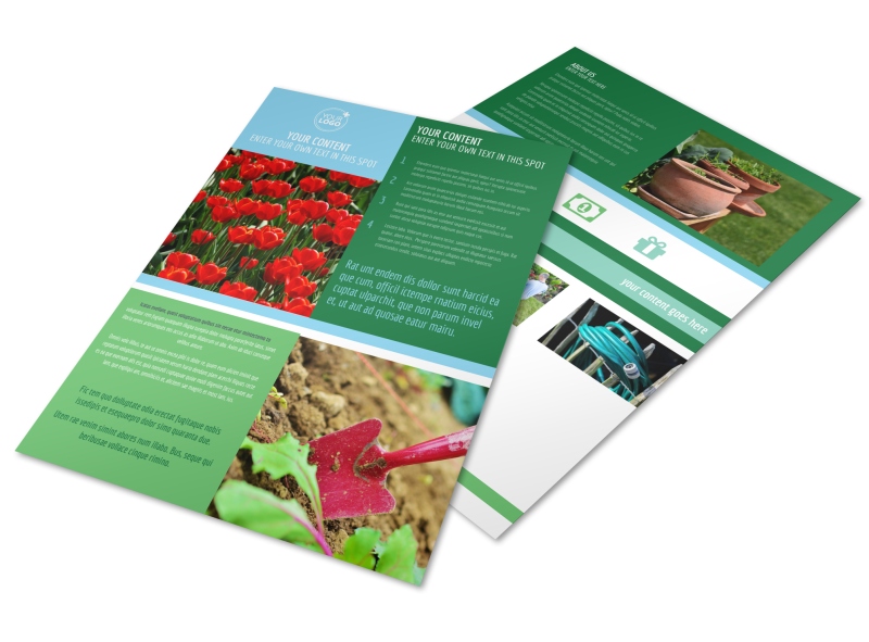 Farm & Garden Supplies Flyer Template Preview 1