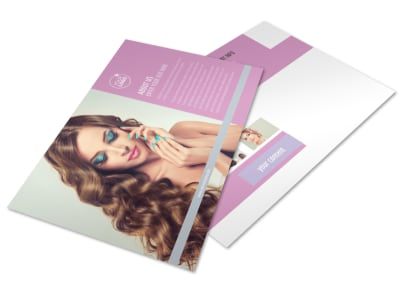 Professional makeup artist business card template mycreativeshop professional makeup artist postcard template colourmoves