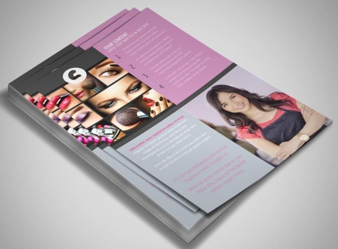 Makeup Artist Leaflet images