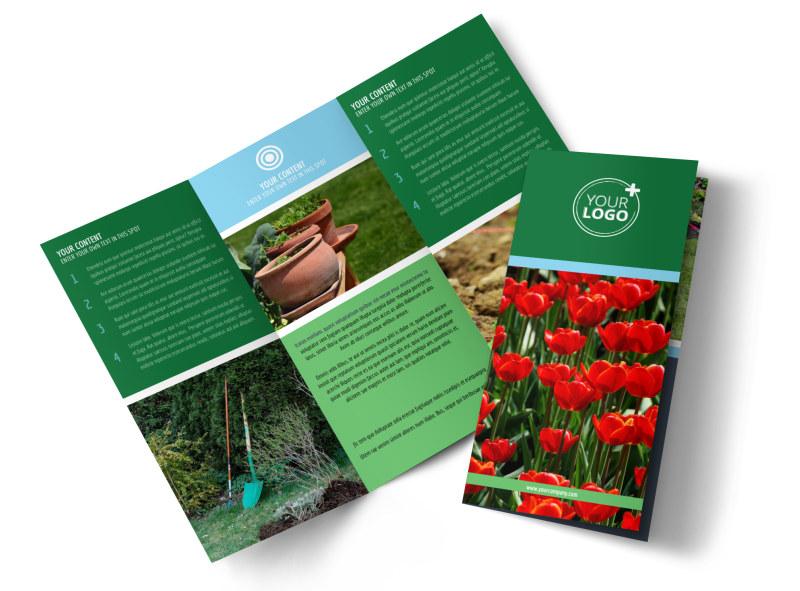 Farm & Garden Supplies Brochure Template Preview 4