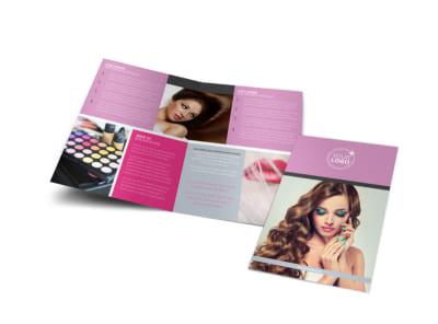 Professional makeup artist flyer template mycreativeshop professional makeup artist bi fold brochure template saigontimesfo