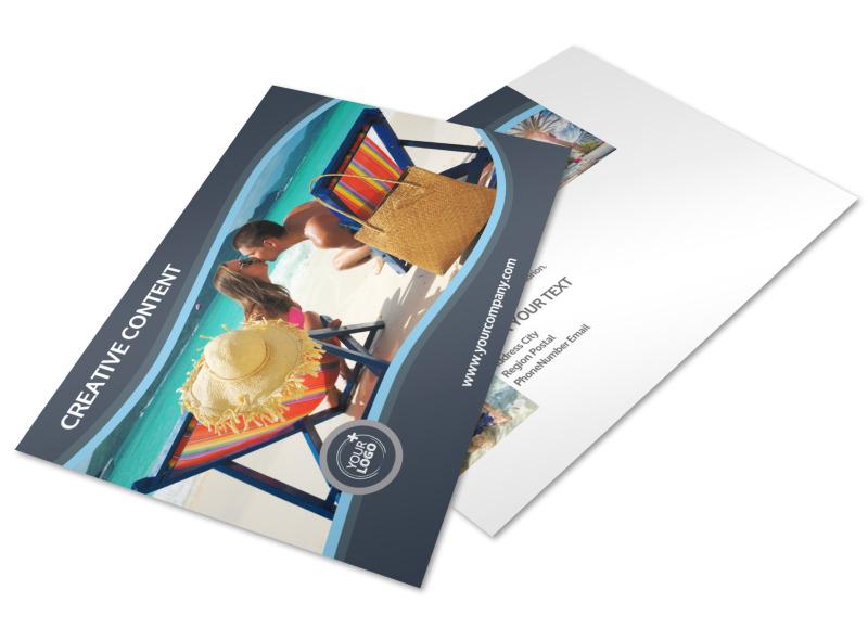 5 Star Resort Postcard Template 2