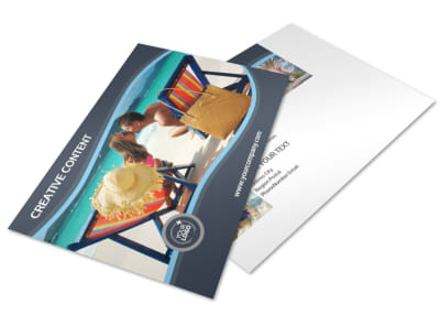 5 Star Resort Postcard Template 2