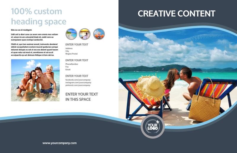 5 Star Resort Brochure Template Preview 2