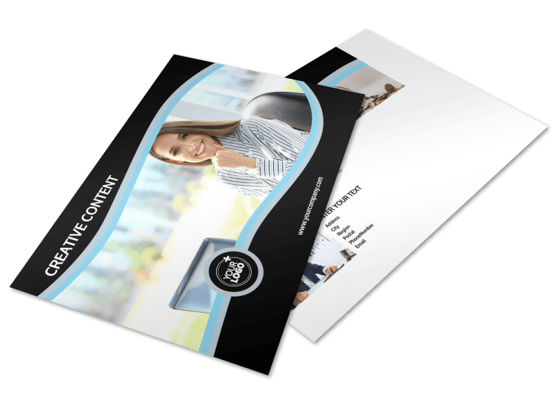 Tax Consultants Postcard Template Preview 1