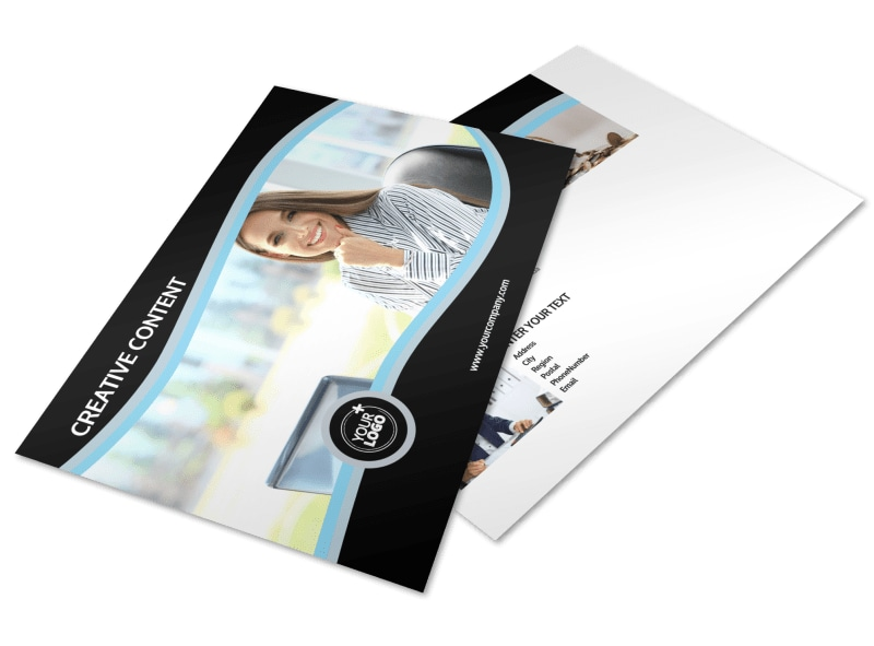 Tax Consultants Postcard Template Preview 4
