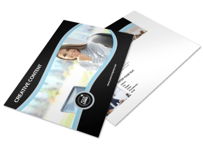 Accounting & Tax Services Postcard Template preview