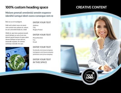 Tax Consultants Brochure Template Preview 1