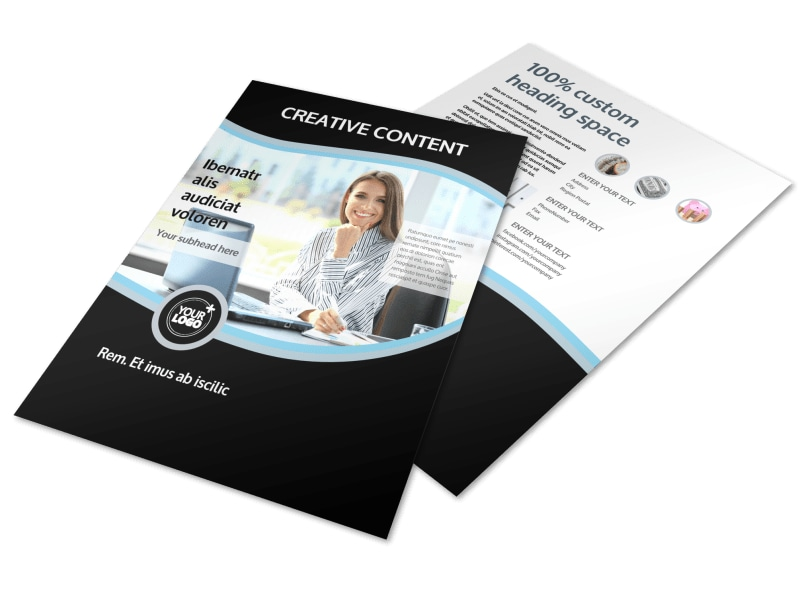 Tax Consultants Flyer Template Mycreativeshop