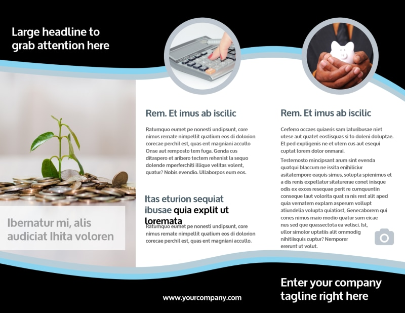 Tax Consultants Brochure Template Preview 3