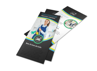 Maid Services Flyer Template 2