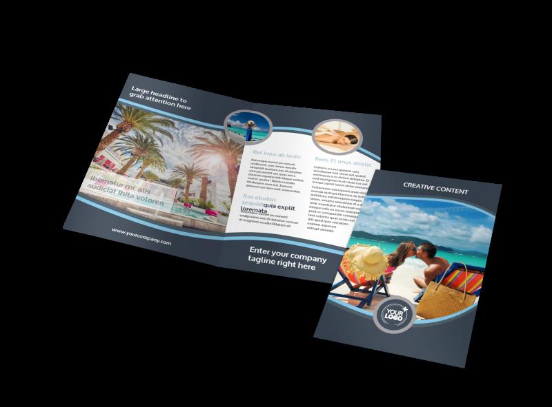 5 Star Resort Brochure Template Preview 1