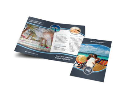 5 Star Resort Bi-Fold Brochure Template