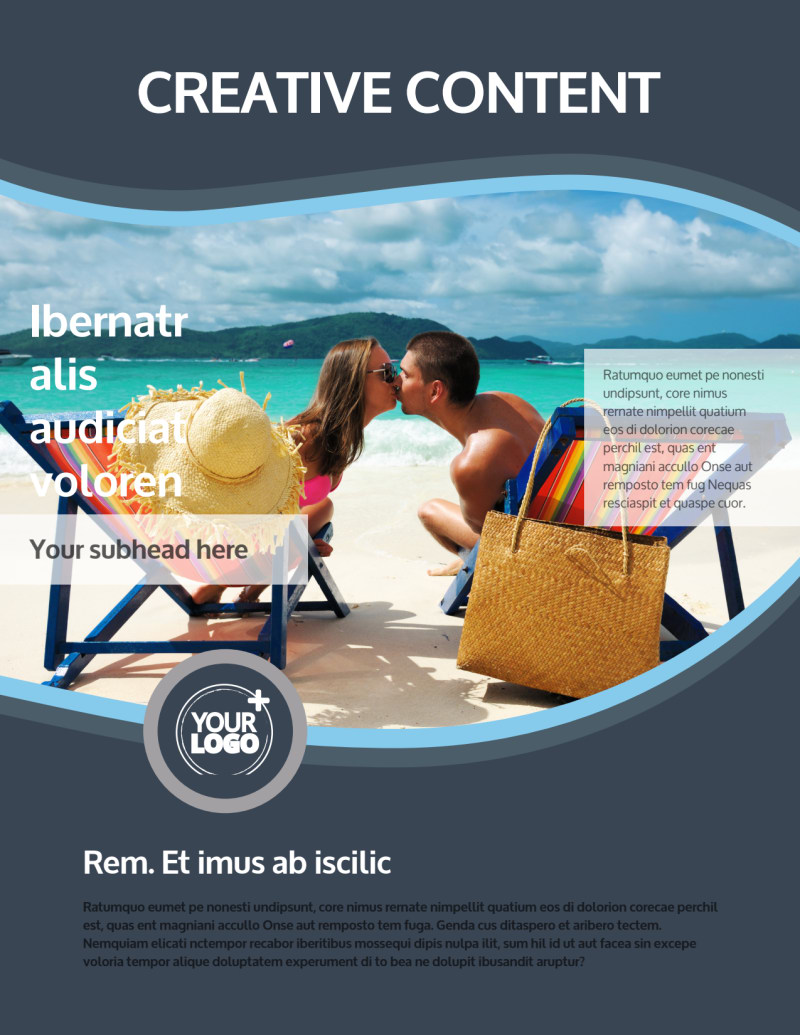 5 Star Resort Flyer Template Preview 2