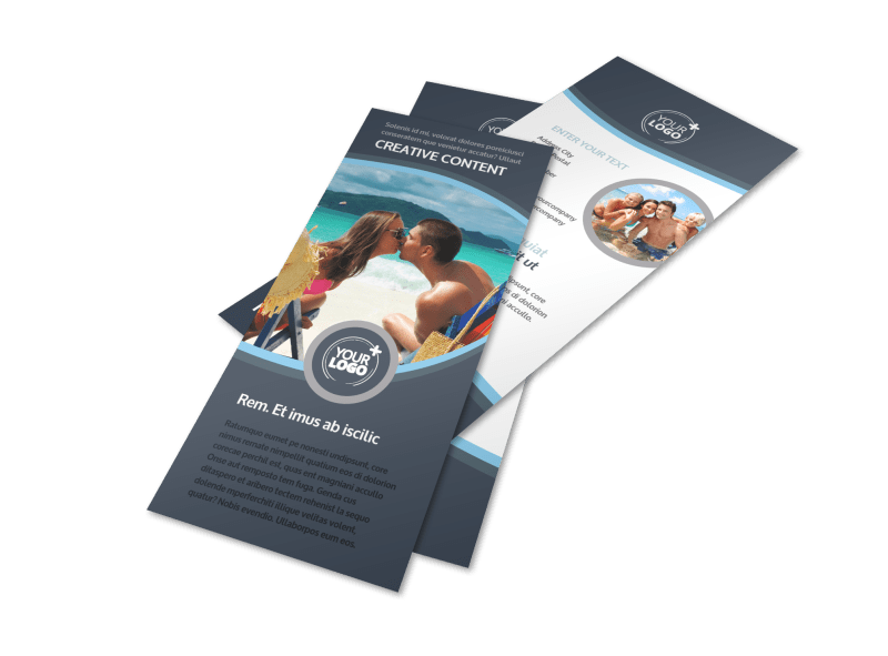 5 Star Resort Flyer Template Preview 1