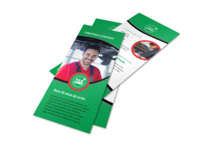 Oil Change Service Flyer Template 2