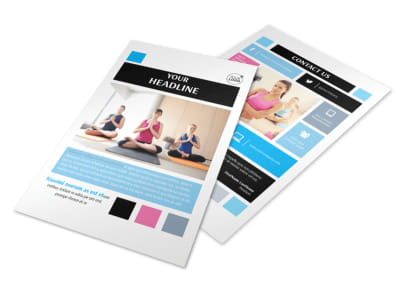 Yoga Instructor & Studio Flyer Template 3 preview