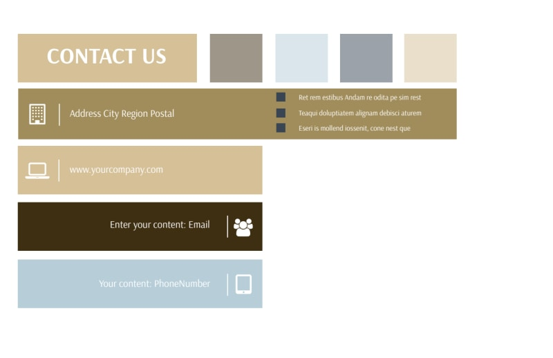 Fine Pastries Catering Postcard Template Preview 3