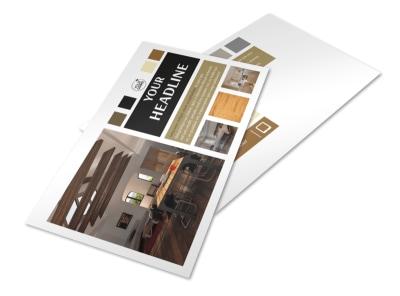 Hardwood Floors Postcard Template 2 preview