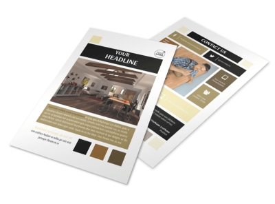 Hardwood Floors Flyer Template 3 preview