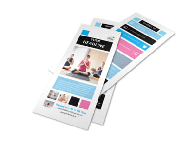 Yoga Instructor & Studio Flyer Template 2