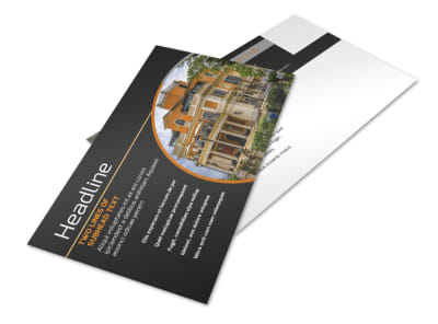 Bed & Breakfast Postcard Template 2 preview