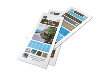 Sunny Villa Rental Flyer Template 2