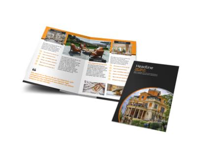 Bed & Breakfast Bi-Fold Brochure Template