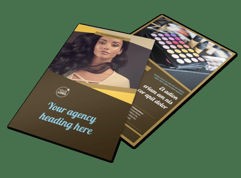 Makeup Artist Flyer Template Preview 1