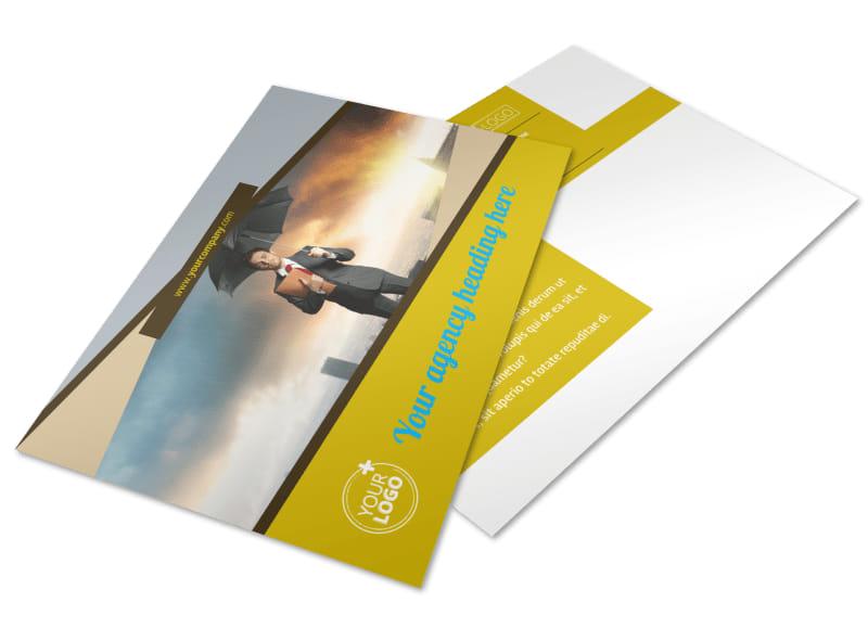 Business Insurance Postcard Template 2