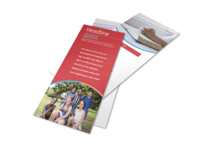 Christian Summer Camp Flyer Template 2 preview