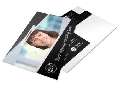 Transcripts Translation Service Postcard Template