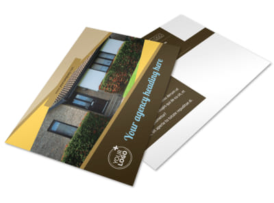 Window & Door Repair Postcard Template 2 preview