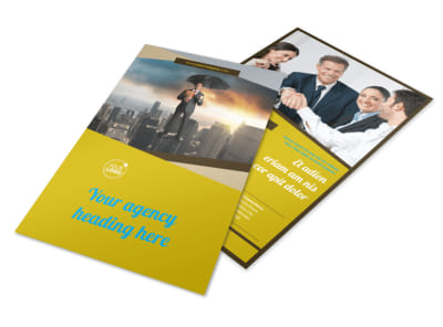 Business Insurance Flyer Template 3 preview