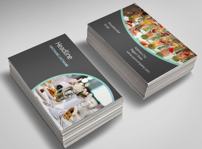 Outside catering business cards images card design and card template outside catering business cards images card design and card template business cards catering template choice image flashek Gallery
