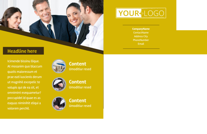 Business Insurance Postcard Template Preview 3