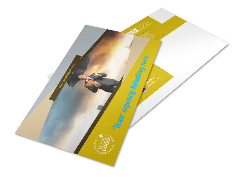Business Insurance Postcard Template Preview 1