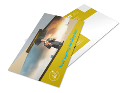 Business Insurance Postcard Template preview