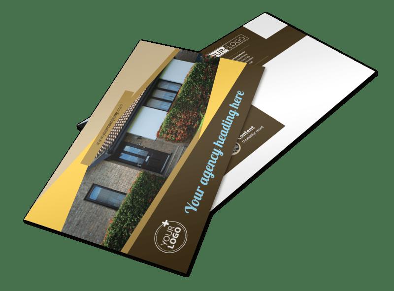 Window & Door Repair Postcard Template Preview 1