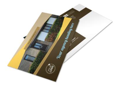 Window & Door Repair Postcard Template preview