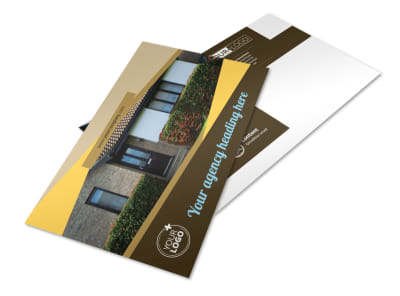 Window & Door Repair Postcard Template preview