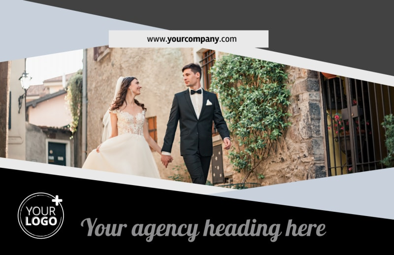 Wedding Video Service Postcard Template Preview 2